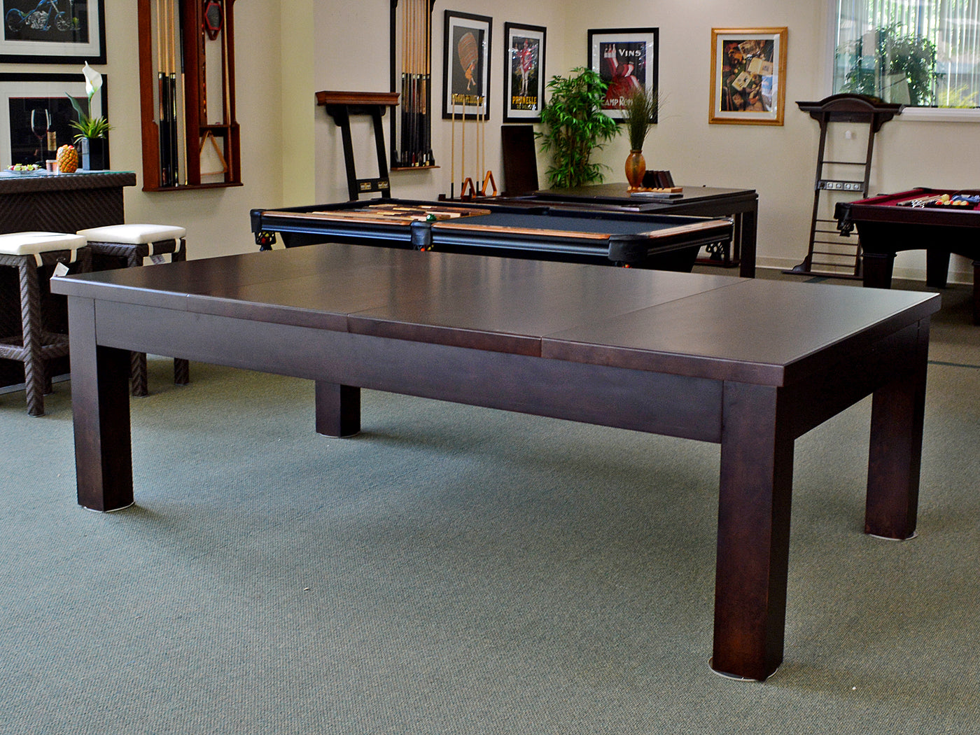 Charmant ... Dining Pool Table Top ...