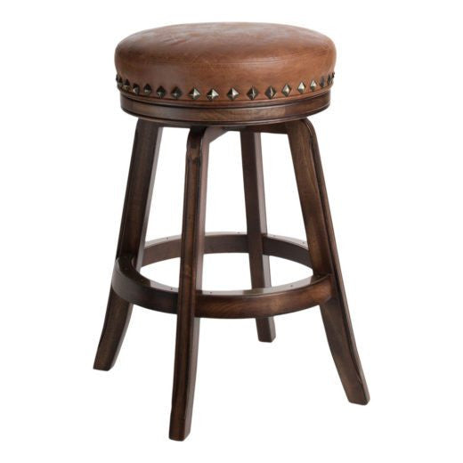Darafeev Milano backless barstool leather