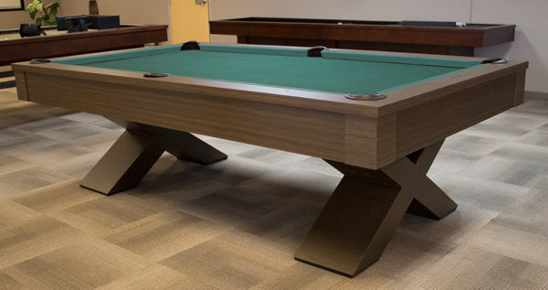 olhausen encore pool table ebony wood stock