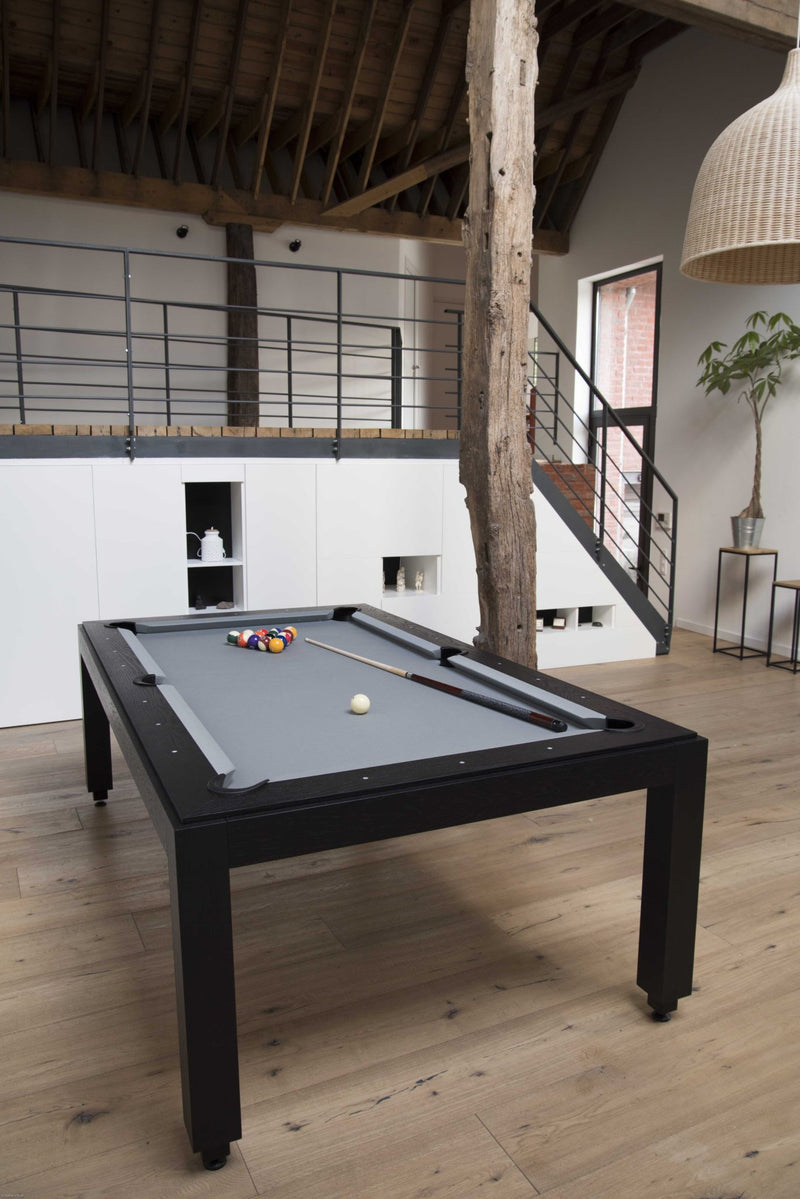 Fusion Wood Line dining pool table wenge room