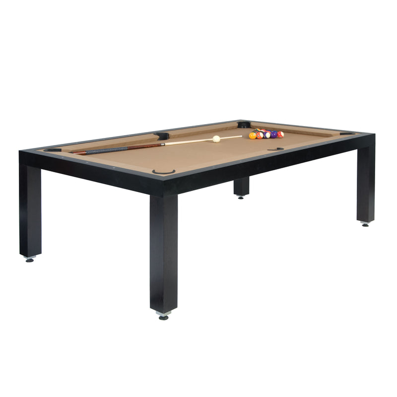 Fusion Wood Line dining pool table wenge
