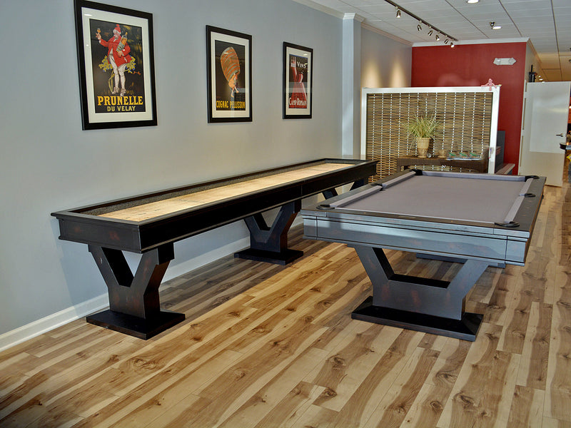 gaston pool table and shuffleboard collection