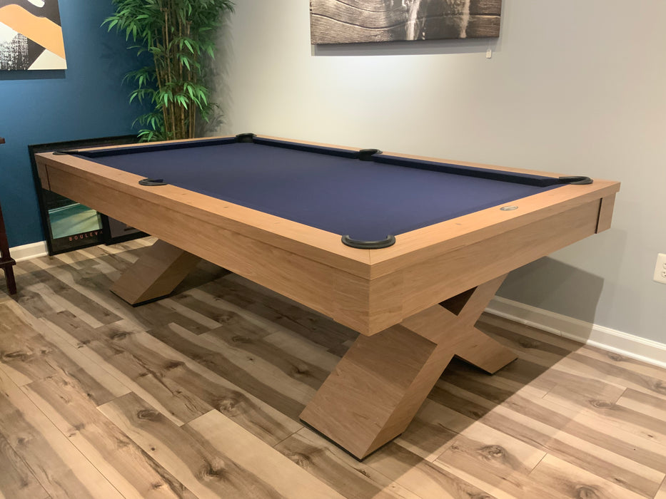 Olhausen encore pool table walnut side
