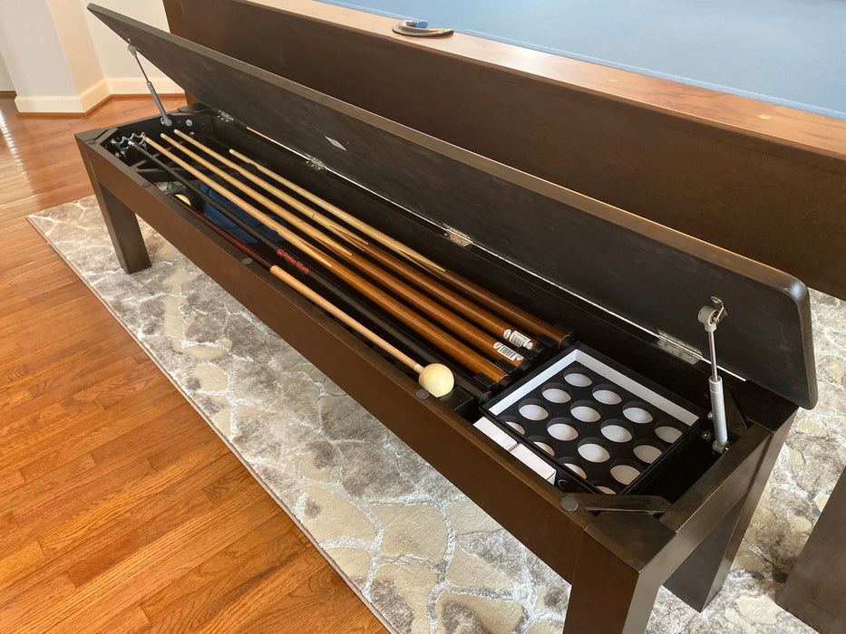 Robbies Modern Dining Pool Table Storage Bench
