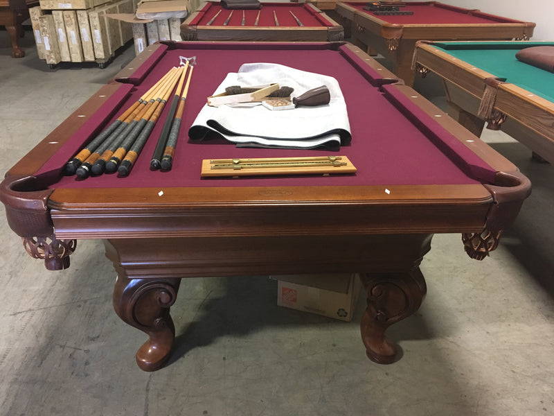 olhausen seville pool table end