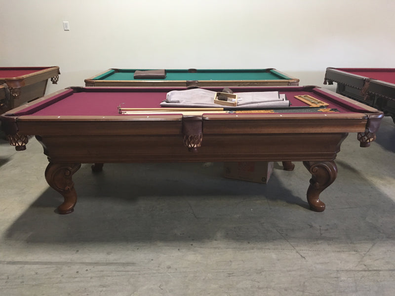 olhausen seville pool table side