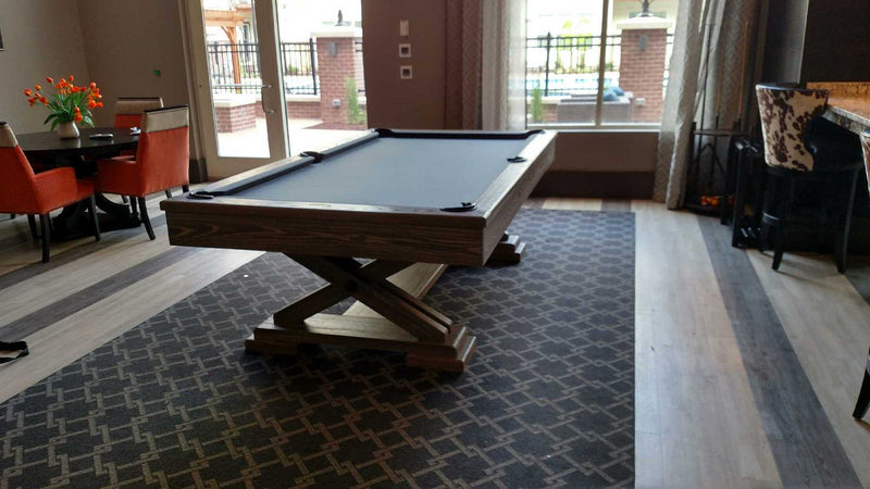 brunswick brixton pool table driftwood room