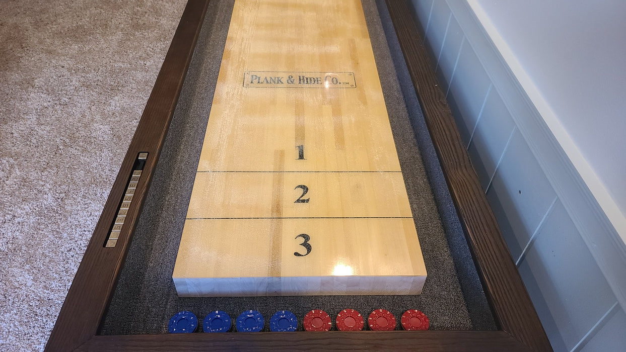 mccormick shuffleboard smokehouse finish plank and hide play field