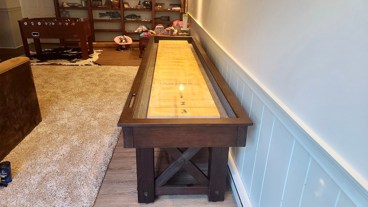 mccormick shuffleboard smokehouse finish plank and hide end