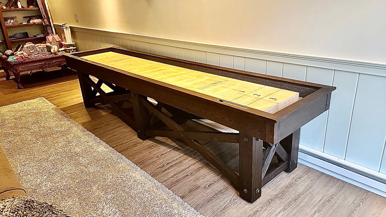mccormick shuffleboard smokehouse finish main plank and hide