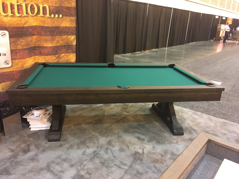 Plank and Hide Otis Pool Table
