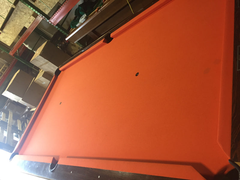 used brunswick medalist pool table cloth