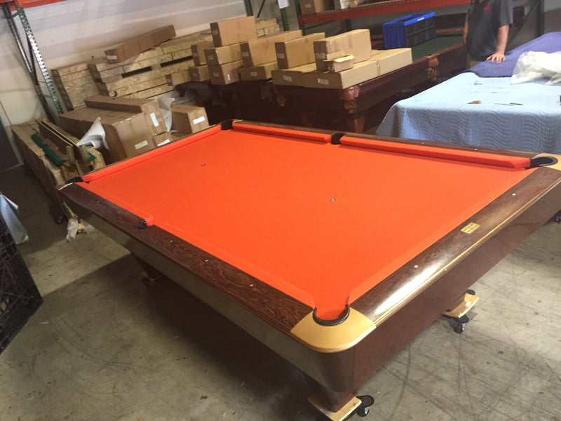 used brunswick medalist pool table