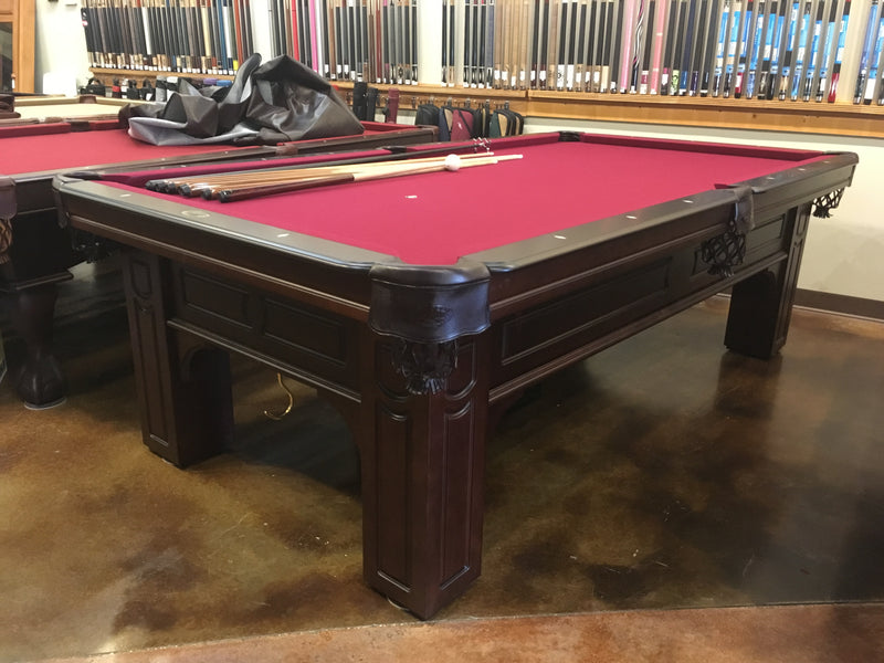 olhausen Remington pool table cherry