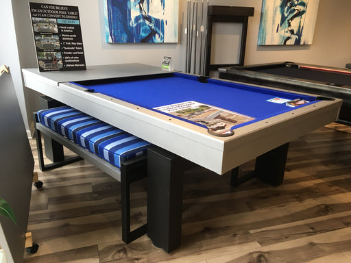 Floor Model South Beach Outdoor Dining Pool Table