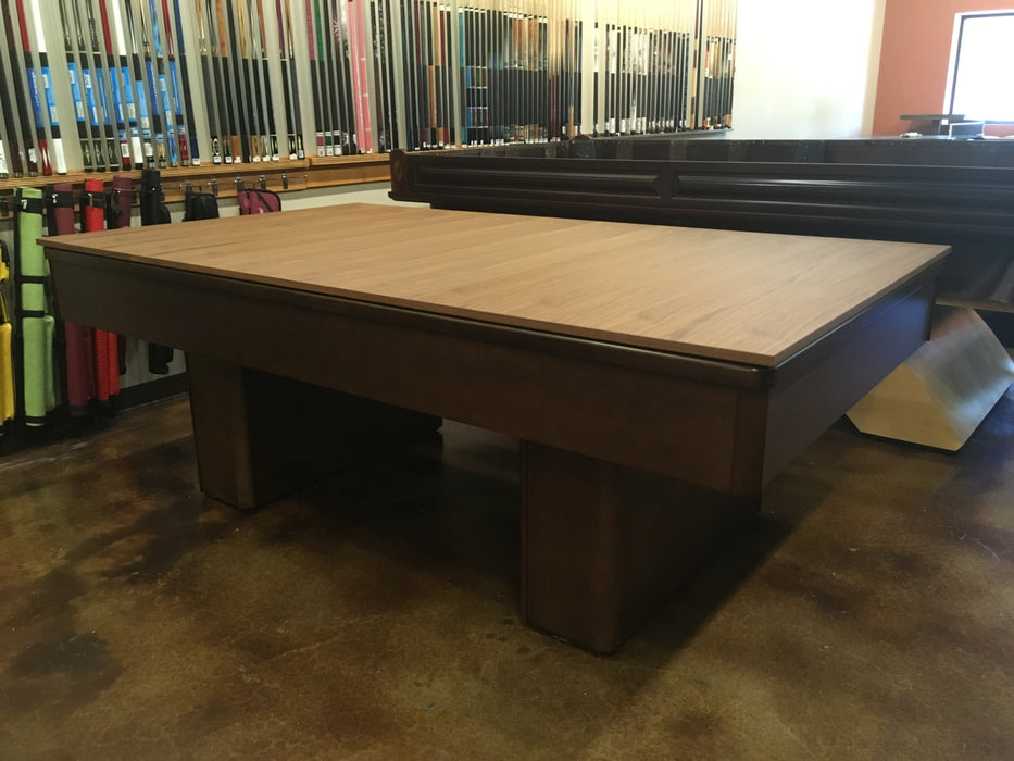 used olhausen monarch pool table with dining top