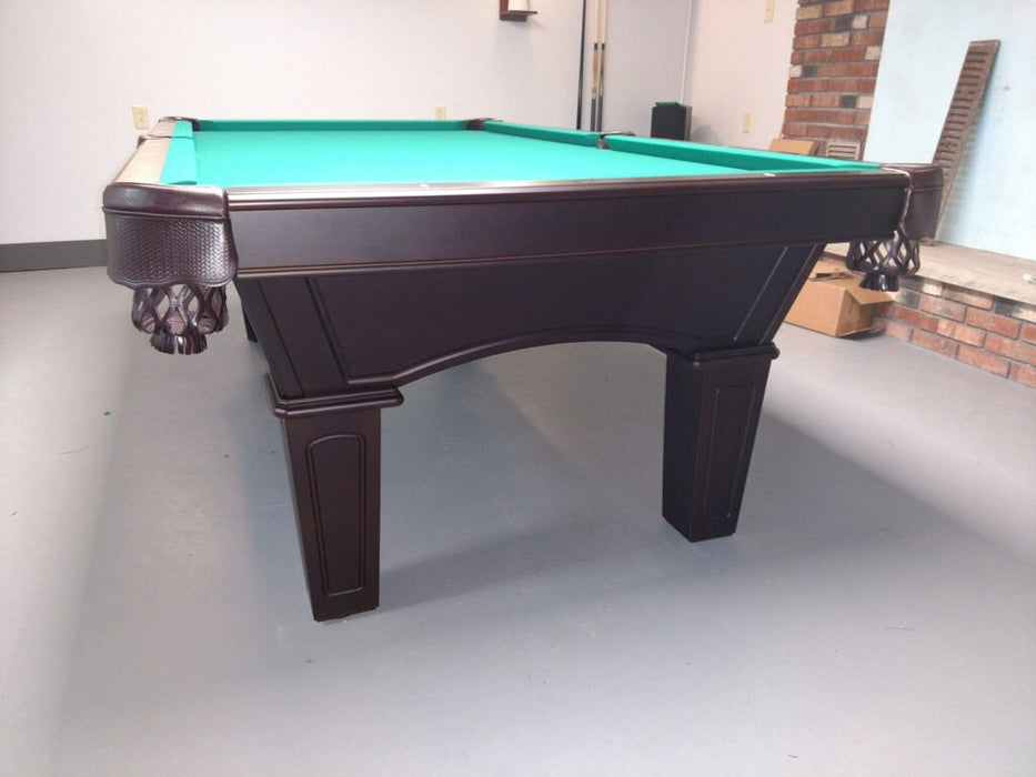Olhausen Belmont Pool Table end view