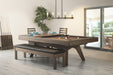 canada billiard luxx pool table top with bench