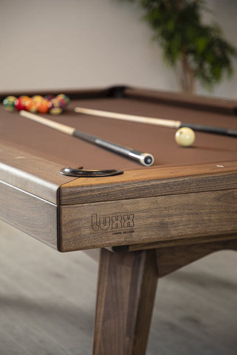 canada billiard luxx pool table detail