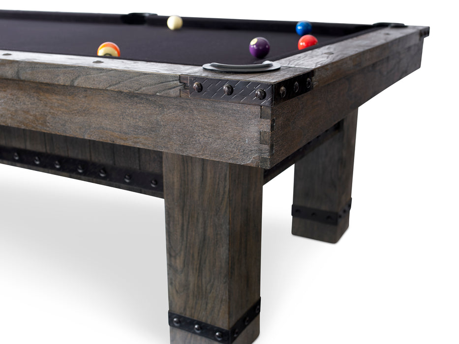 Plank and Hide Morse Pool Table Including Installation