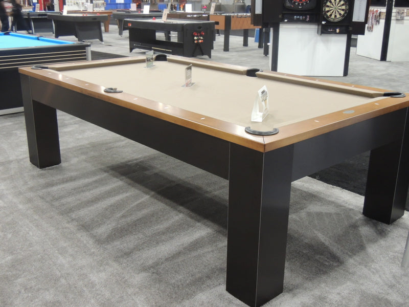 olhausen madison pool table oil rubbed bronze display