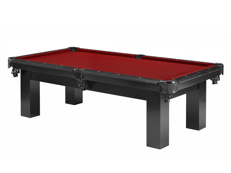 robbies billiards custom moderna pool table black