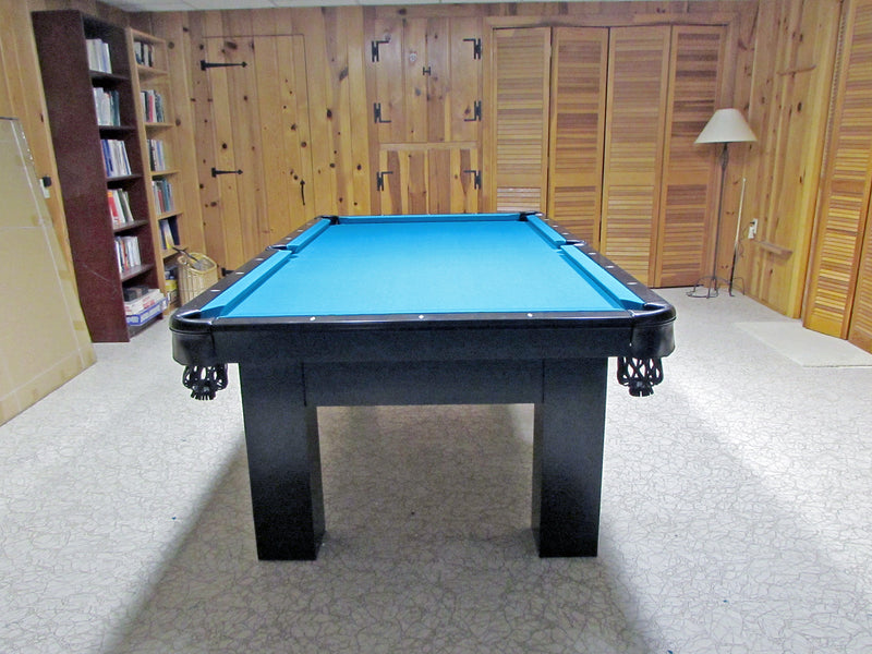 Moderna Pool Table in home end view