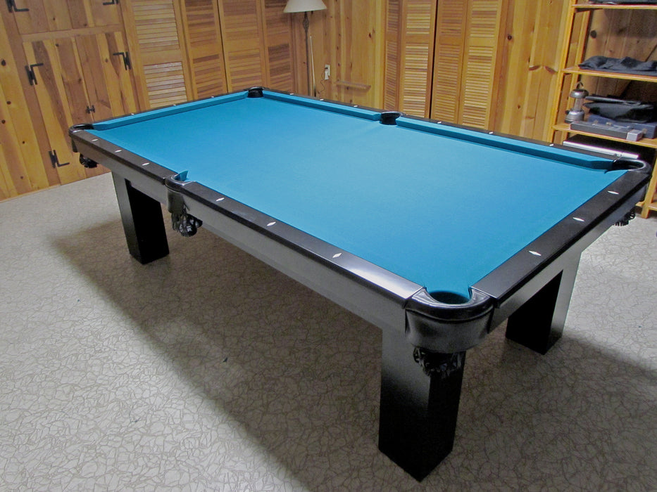 Moderna Pool Table in home side view