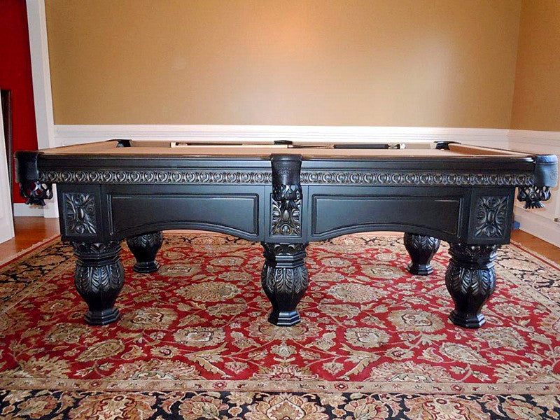 Olhausen Venetian Pool Table Graphite Finish