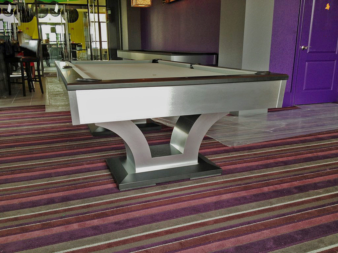 ... Olhausen Alexandria Pool Table Aluminum Room ...