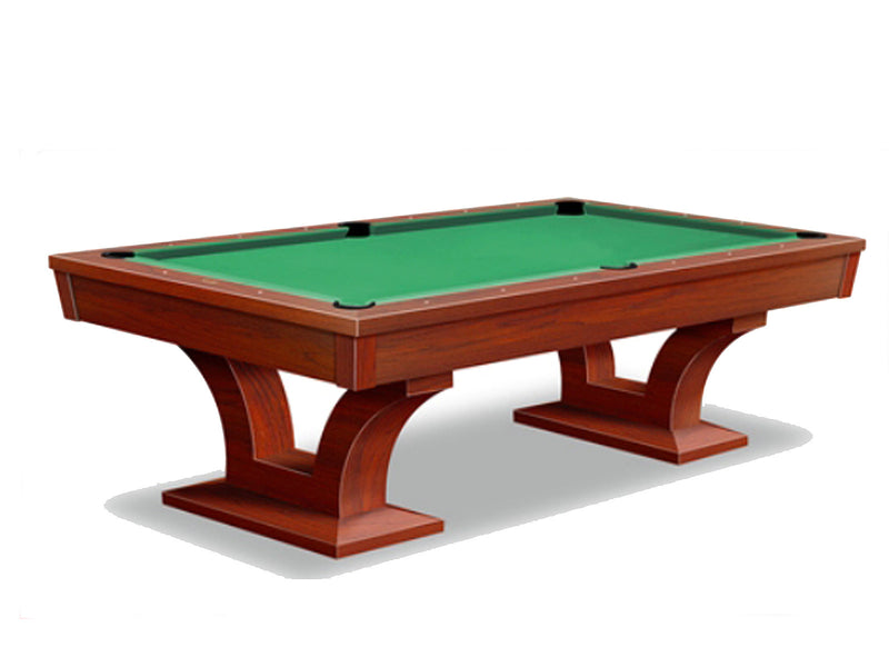Alexandria pool table mahogany