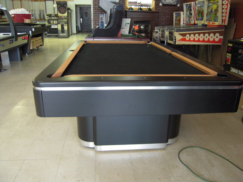 Olhausen Plaza Pool Table matte black