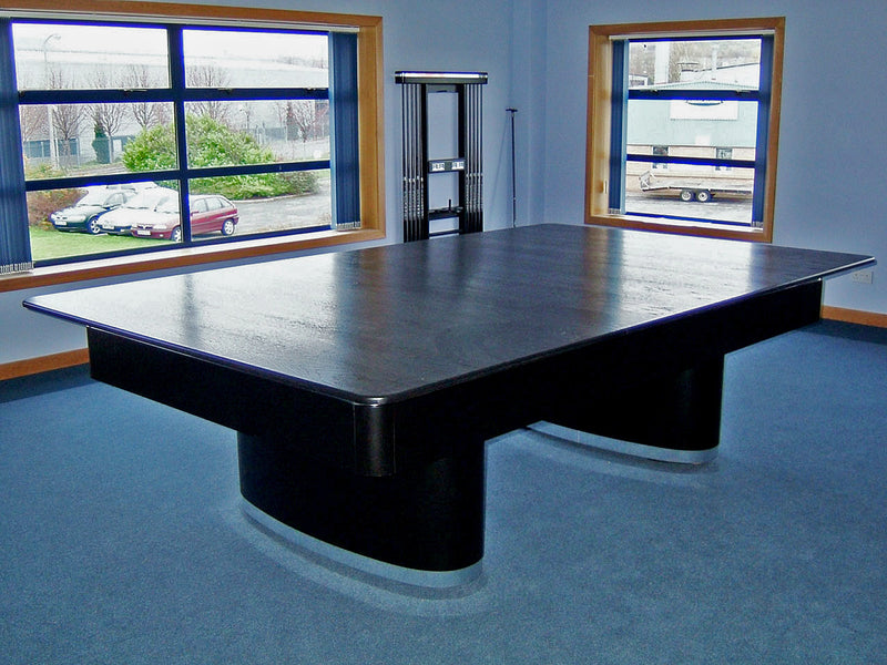 Sahara Pool Table black with custom dining top