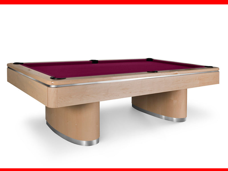 Sahara Pool Table natural maple stock