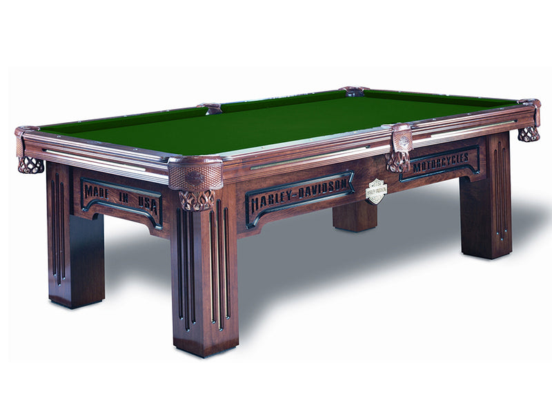 harley davidson pool table art