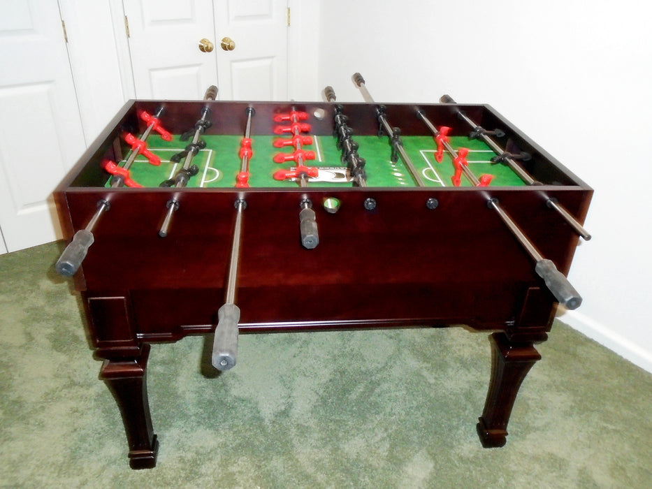 Olhausen Signature Foosball Table cherry finish