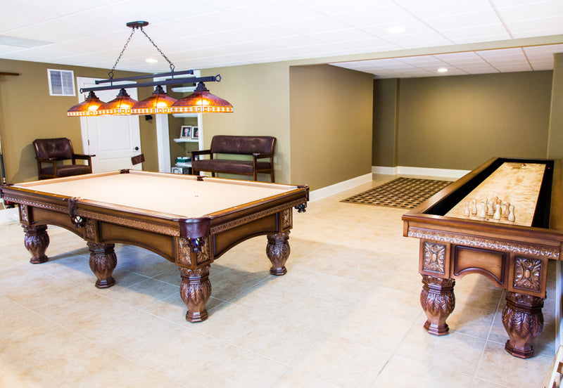 Olhausen Venetian Pool Table Game Room