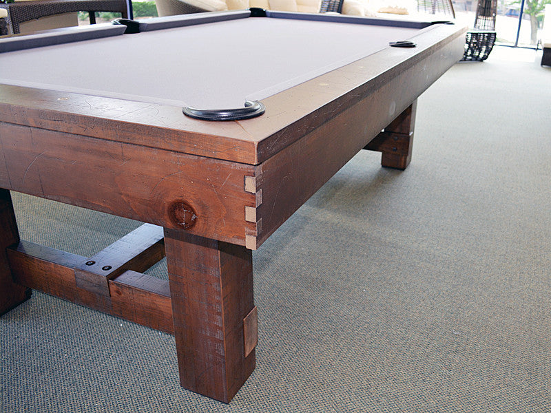 breckenridge pool table wood