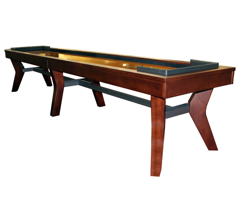 Olhausen Laguna Shuffleboard Table matte traditional mahogany
