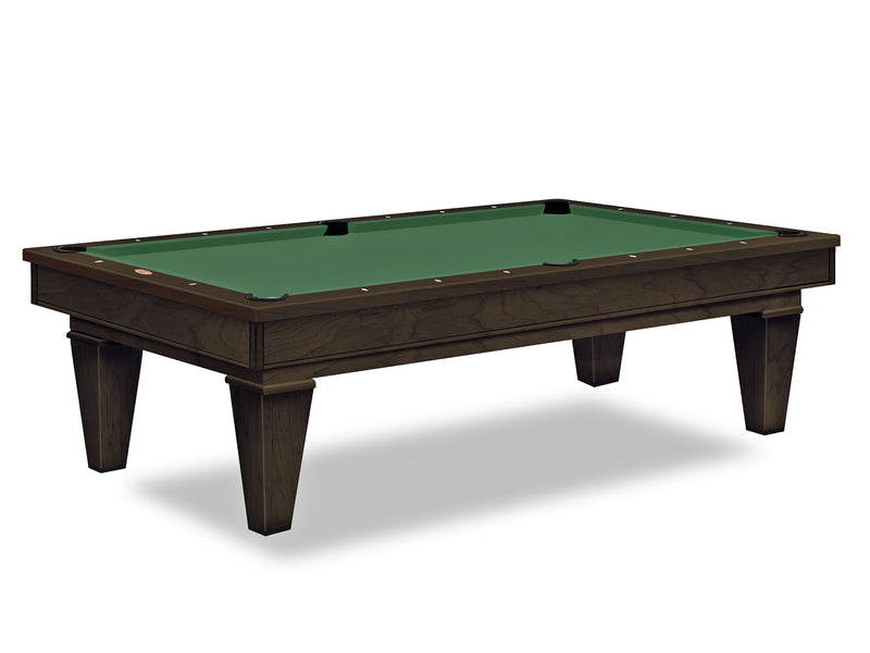 olhausen stilleto pool table espresso finish
