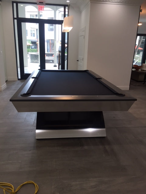 Olhausen Modern pool table room 4