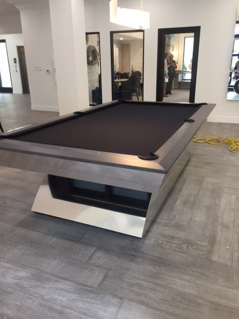 Olhausen Modern pool table room 5