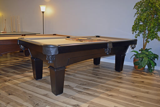 Olhausen Annabella Pool Table ebony finish