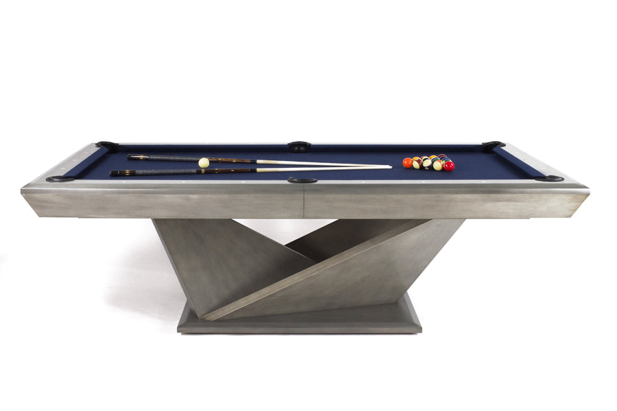 California House Origami Pool Table stock