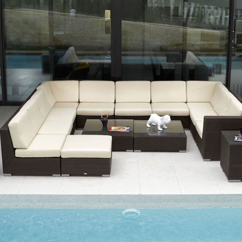 skyline design pacific sectional jb chocolate