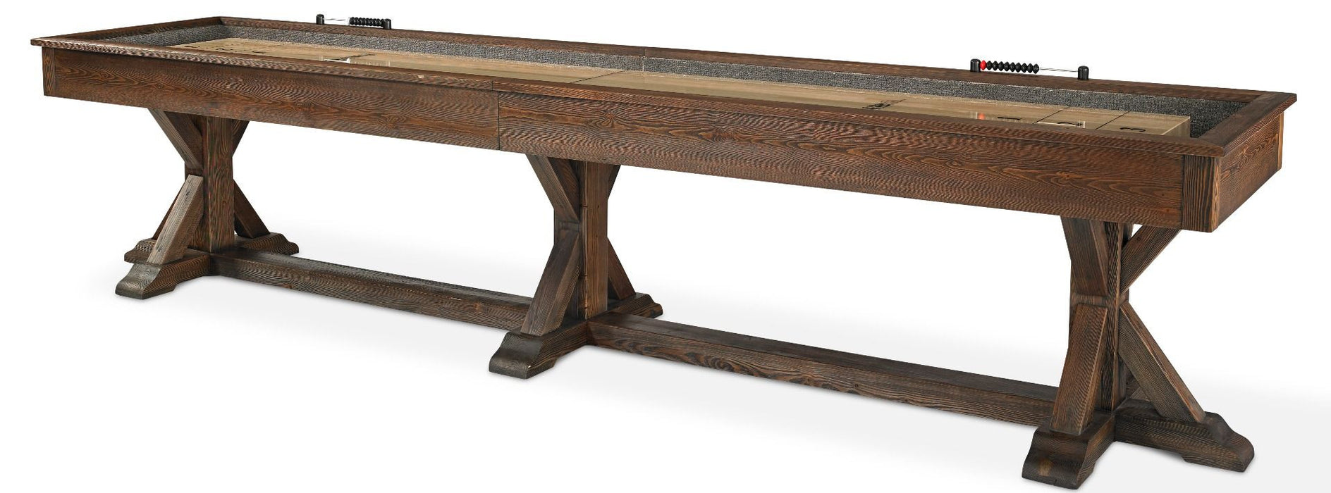 Plank and Hide Thomas Shuffleboard Table stock