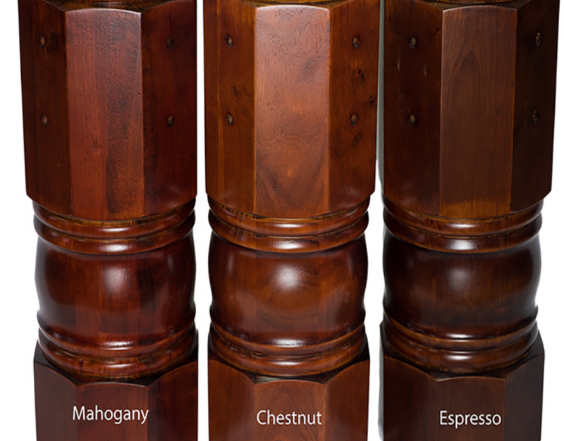 presidential wood finish options