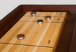 Restoration Style Iron and Wood Shuffleboard Table top