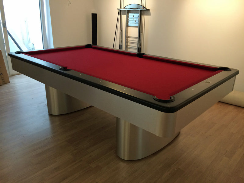 Sahara Pool Table Aluminum detail