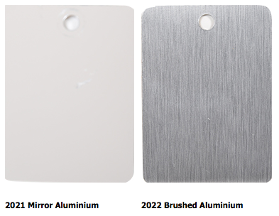 rhino metal finish options